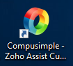 CompuSimple Acceso Remoto Zoho Assist